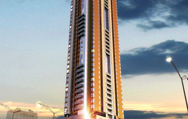 G+40 Storey Al Qassimia University WAQF Residential Tower